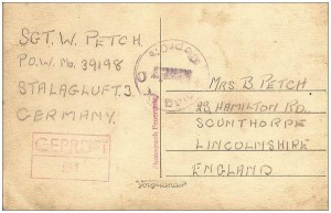 Achterkant prentbriefkaart